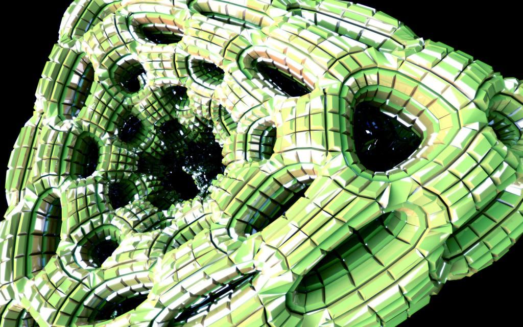 Gambar Abstrak 3D