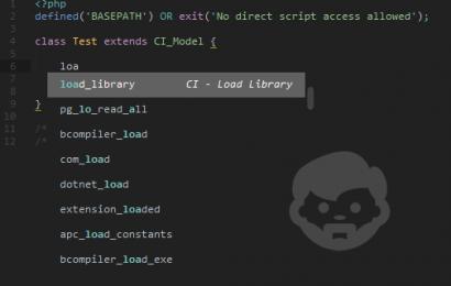 Plugin Code Snippet Untuk Codeiginiter di Sublime