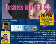 Seminar Nasional Teknologi Informasi Komunikasi dan Manajemen 2016