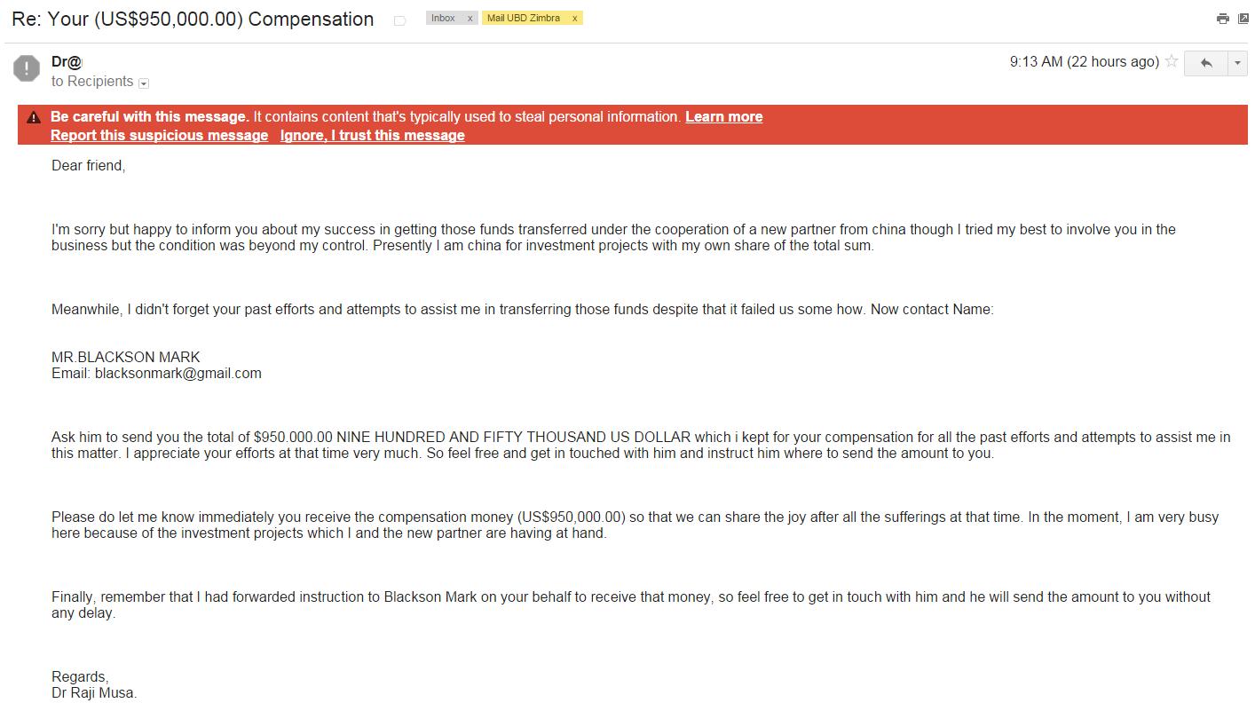 modus pencucian yang melalui email suryayusra universitas bina darma