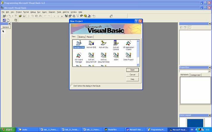 Pengertian Visual Basic